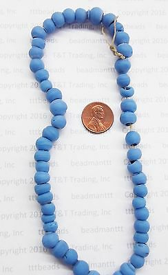 Antique Padre Trade Beads Blue    1834   BIN P