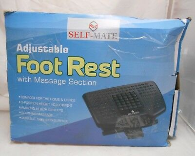 Self-Mate Adjustable Foot Rest With Massage Section Q2 F4