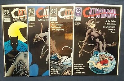 Catwoman #1-4 [1989, DC] Complete Set!! Mature Readers!