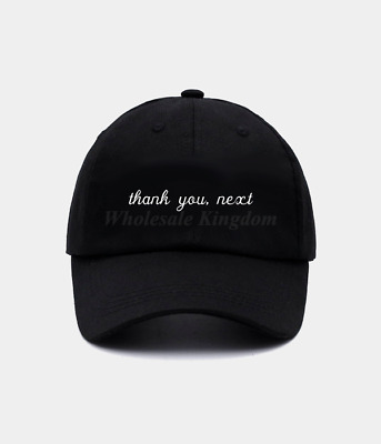 New Thank You Next Hat Ariana Grande Music Hip Hop Rapper Trap Baseball Dad Cap