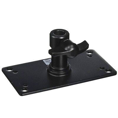 Baby Receiver Wall Plate with 5/8 Socket (9x15cm plate) Photo Studio Light Stand
