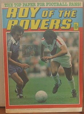 ROY OF THE ROVERS 20th October 1979 Tommy's Troubles The Hard Man MIghty Mouse
