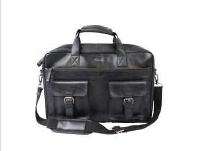 35952e73c69 Rawlings Leather Briefcase  MSGR Bag.BNWT Retail  498. Free Leather Wallet  Incl!