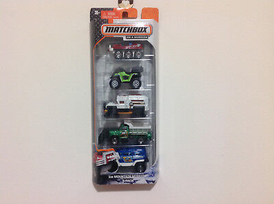 Matchbox Car / 5 Pack Ice Mountain Mission