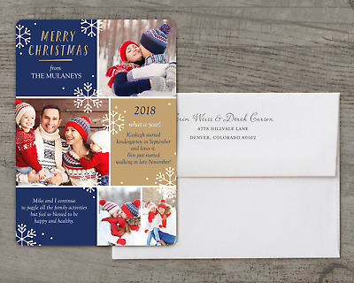 Christmas Review - Deluxe 5x7 Personalized Holiday Christmas Card