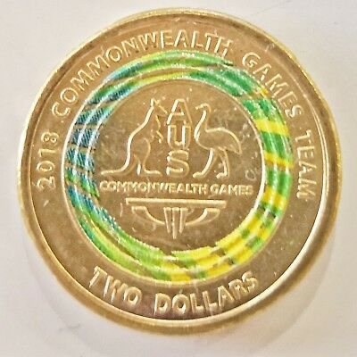 🌟Limited Edition 2018 AUS - Rare $2 Dollar Coin 🌟 Special UNC Collection ✨⚡️