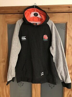 Boys CANTERBURY England Rugby Hoodie, Age 12 Years, Excellent Condition