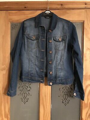 Girls Denim Jacket, Age 10-11 Years, Excellent Condition, Comfy with Stretch
