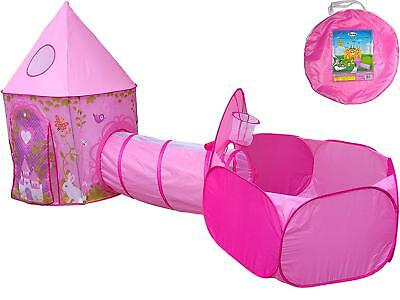 Barbie Dream Play Ground Size Ball Pit Girls Playhouse Fun Tent Princess Castle