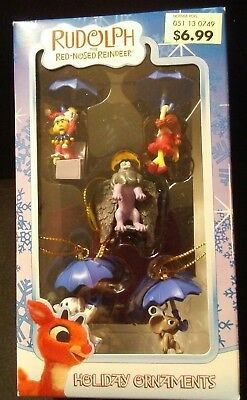Enesco Ornaments from Rudolph the Red-nosed Reindeer: 5 Miniature Misfit Toys