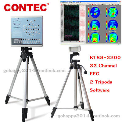 CE 32 channel Digital Portable EEG machine and Mapping System 2 Tripods Software