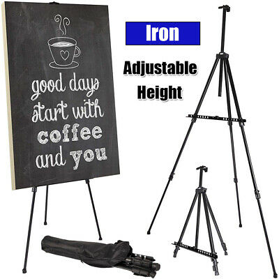 Telescoping Tripod Painting Drawing Artist Easel Display Stand Board Art Sketch