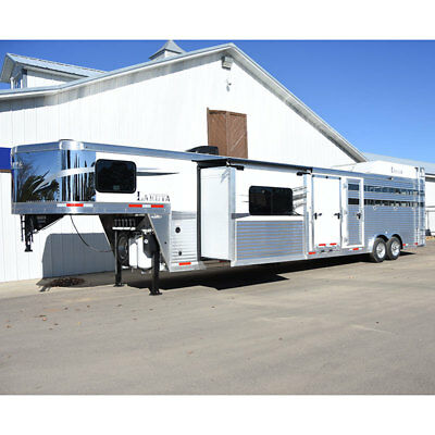2019 Lakota Stock Combo Living Quarter Horse Trailer 11' LQ with Slide Out