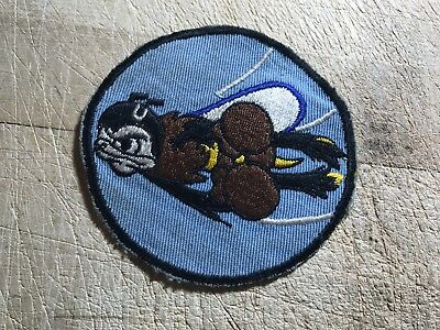 Cold War/Vietnam? US AIR FORCE PATCH-22nd Fighter Squadron-ORIGINAL USAF BEAUTY!