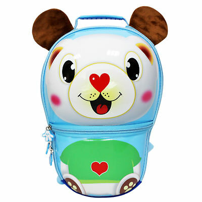 Twins Cute Waterproof Kids Backpack 3D Cute Bear Toddler Children Preschool Bags