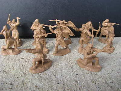 New Apache Indian Paragon Warriors Set 2 1:32 54 Mm Geronimo Toy Soldiers