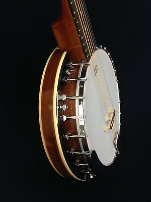 Caraya BJ-006 6-String Guitar Banjo,Mahogany Back +Free Gig Bag