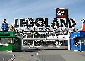 1 Hopper Ticket-LEGOLAND California, Sea Life Aquarium or Waterpark-Exp.10/2019