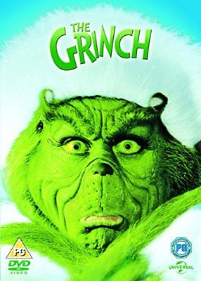 How The Grinch Stole Christmas  with Jim Carrey New (DVD  2000)