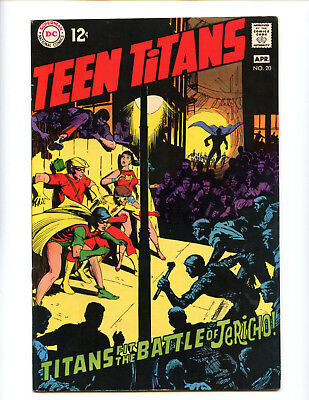 Teen Titans 20 Neal Adams art nice FN/VF