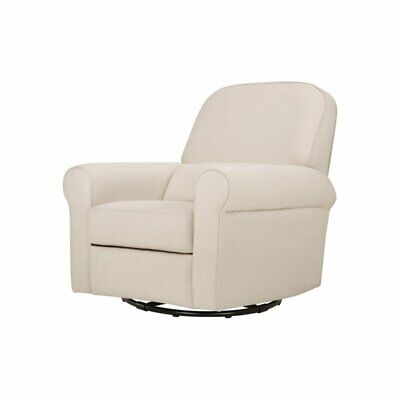 Swell Babyletto Tuba Extra Wide Swivel Glider Winter Grey Weave Pabps2019 Chair Design Images Pabps2019Com