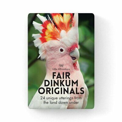 Fair Dinkum Originals - Affirmation Animal Card Set, APHDFD