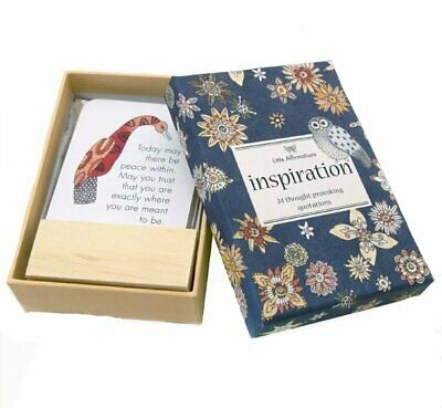 Inspiration - Affirmation Card Set - Affirmation Card Sets, APHDINS
