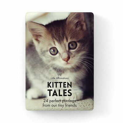 Kitten Tails - Affirmation Animal Card Set - Affirmation Card Sets, APHDKT
