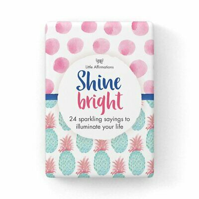 Shine Bright - Affirmation Card Set - Affirmation Card Sets, APHDSB