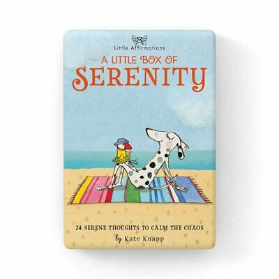 Little Box of Serenity - Affirmation Card Set - Affirmation Card Sets, APHDSE