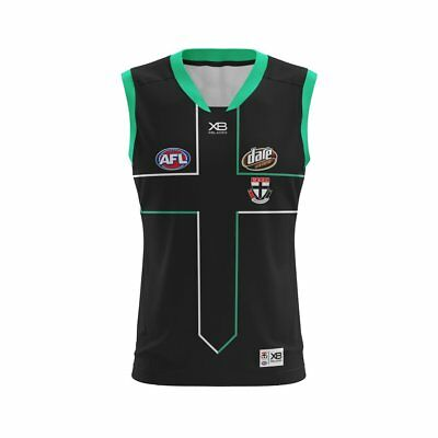 AFL X BLADES ST KILDA SAINTS 2018 Training GUERNSEY MENS Official Gear Football
