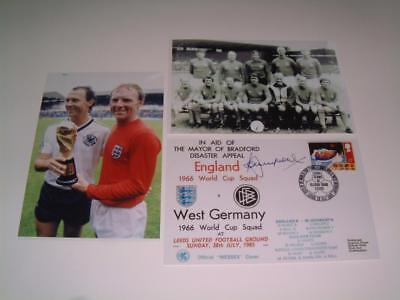 England v Germany 1966 World Cup Final replay 1985 Bradford Disaster Bobby Moore