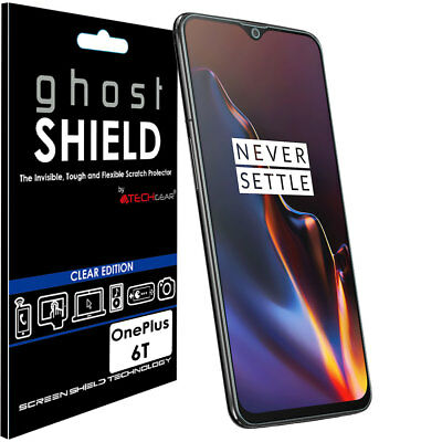 1x TECHGEAR (TPU) FULL COVERAGE Screen Protector Cover for OnePlus 6T