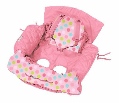 Shopping Trolley Cover and High chair cover - Pink Butterfly
