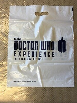 Dr Who Experience Cardiff - CARRIER BAG - 37.5 by 46.5cm - Good Condition!