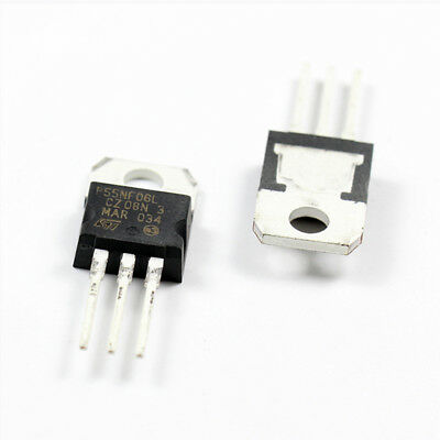 STP45NF06 MOSFET N-CH 60V 38A TO-220 ST /'/'UK COMPANY SINCE1983 NIKKO/'/'
