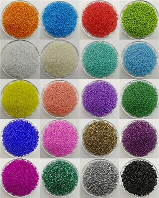 HOT 2 / 3 / 4mm Czech Glass Seed Spacer beads DIY Jewelry  Making DIY 21 Colors