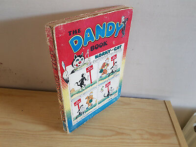 DANDY BOOK 1955 vintage comic annual - Good condition