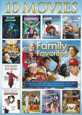 Family Favorites: 10 Movie Collection (3 Disc) DVD NEW