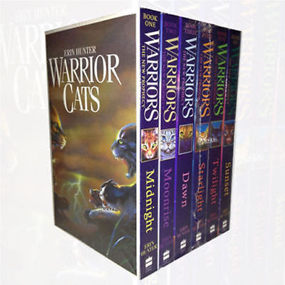 Warrior Cats Series 2 Collection 6 Books Set Pack Prophecy by Erin Hunter NEW P