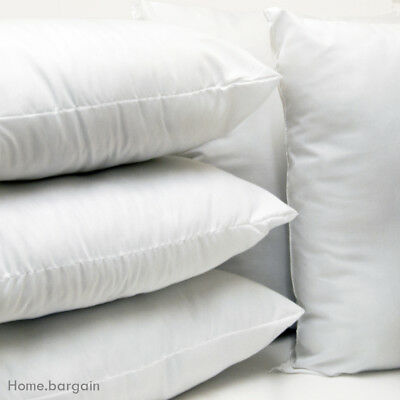 Microfibre Cushions Pads Inners Insert HollowFibre Fillers Scatter Bedding Sofa