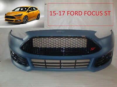 2015 2016 2017 Ford Focus St Front Bumper Cover Grille Grill Fog