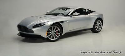 2017 DB11 -- 2017 Aston Martin DB11 Lightning Silver Black like new with 916 Miles.