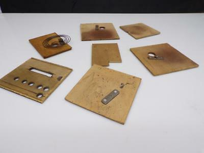 Lot of German-Made Black Forest Cuckoo Clock Case Parts Back Dust Doors  E138
