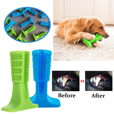Dog Toothbrush Pet Brushing Stick Teeth Cleaning Chew Toy For Dogs Pet Oralcare
