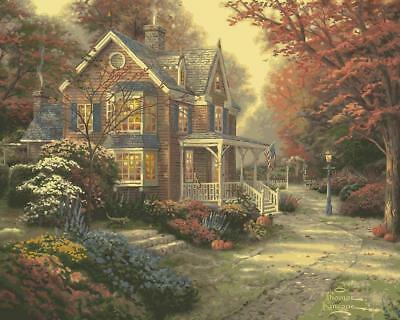 Plaid Creates Paint by Number Kit (16 20-Inch), 22085 Victorian Autumn NEW NEW