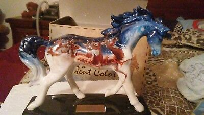 Horse of a different color starry night NIB low # 34 In time for Christmas