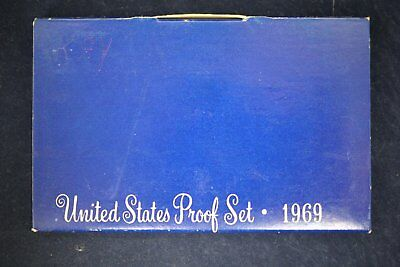 1969 United States US Mint Proof Set w/ Box