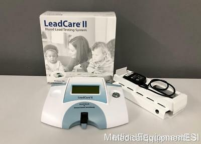 Magellan Diagnostics LeadCare II Blood Lead Testing System With Charger