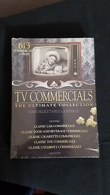 TV Commercials - The Ultimate Collection (DVD, 2010, 6-Disc Set) Factory sealed